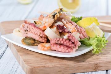Fresh made Seafood Salad