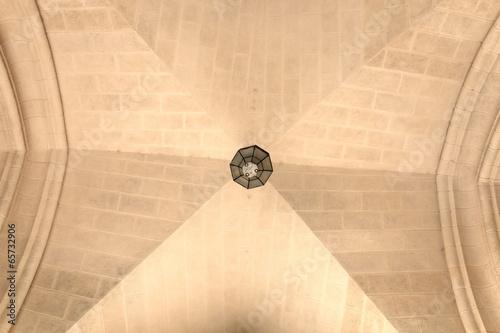 Staande foto Praag Ceiling of palace