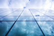 Leinwandbild Motiv Glass building