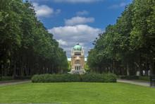 Bazylika Najświętszego Serca parc Bruksela Belgia elisabeth