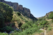 Hiking trail in Nahal Amud national park.