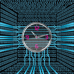 Binary Clock Concept