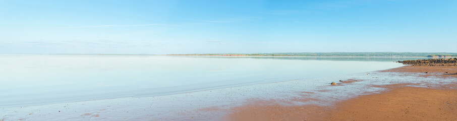 Panoramic view of Minas Basin