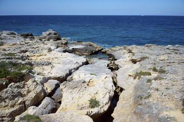 Rocce sulla costa Otrantina