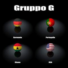 Squadre Gruppo G Brasile 2014
