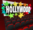 Hollywood Silver Screen Movie Theater Show Business Industry