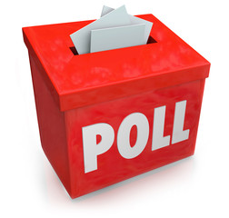 Poll Survey Submission Entry Box Answer Questions Vote
