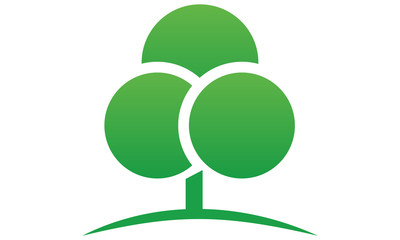 landscape & tree logo icon