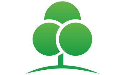 landscape & tree logo icon