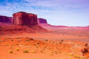Rock Formations in the Arizona Desert