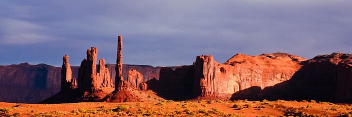 Monument Valley in Afternoon Light