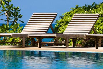 Swimming pool, Thailand.