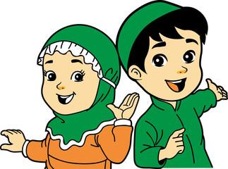 moslem children character