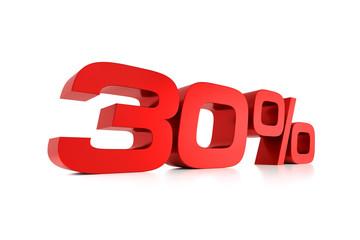 Serie Prozente - 30 Prozent