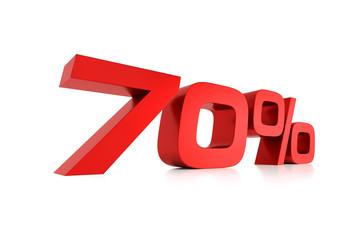 Serie Prozente - 70 Prozent