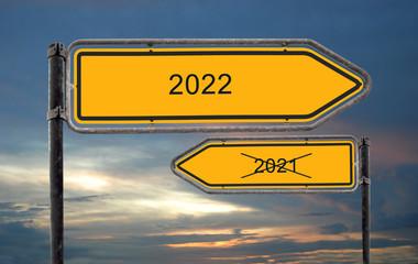 Strassenschild 18 - 2022