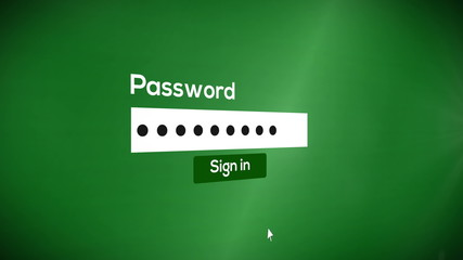 sign in password to system (include audio)