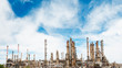 oil refining and gas production power plant