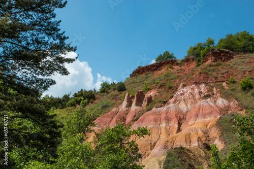Papiers peints Canyon Vallée des saints, Boudes, Auvergne