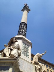 Column of the Immaculate Conception, Rome, Italy