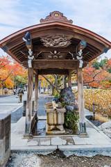Benten Hall Temple in Ueno Park