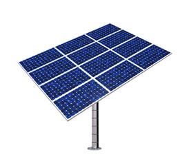 Solar Panel Isolated