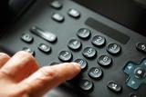 Fototapety Dialing telephone keypad