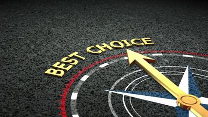 Best choice concept