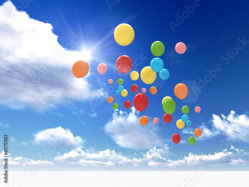 Fototapeta balloons
