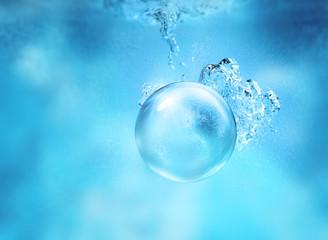 sinking sphere