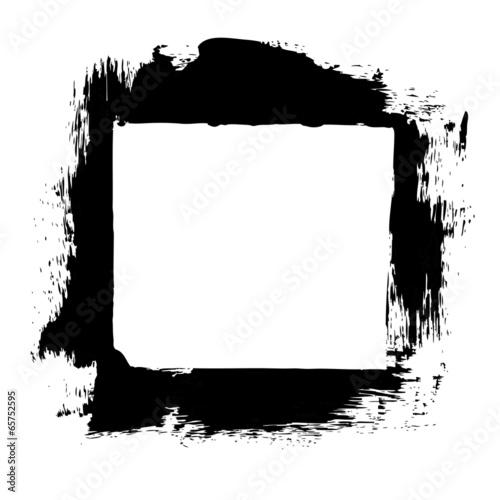 Fotobehang Vormen Black Frame