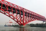 Minato bridge in Osaka