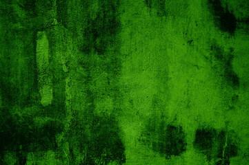 Ungleichmäßiger Grunge Hintergrund: grün