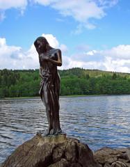 Lipno Stausee, Skulptur