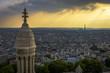 Aerial View of Paris from Sacre-Cœur