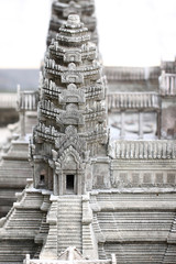 Model simulation of Preah Vihear Temple.