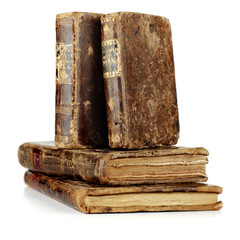 old and aged books