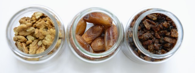 dried fruits panorama