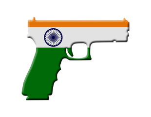 Handgun weapon laws in India