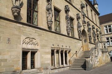 Treppe am Osnabrücker Rathaus