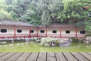 chinese vintage  garden