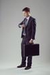 Elegant businessman waiting