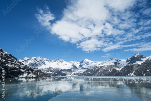 Foto op Canvas Gletsjers Glacier Bay National Park Alaska
