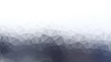 Fototapety White and gray abstract polygon triangle background