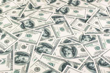 United states dollars background