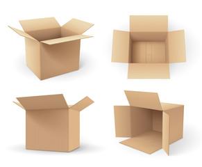 Boites en carton vectorielles 3