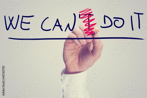 Poster Positivity concept
