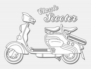 motorcycle art theme