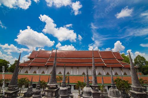 Foto op Plexiglas Japan Wat Phra Mahathat Woramahawihan Nakorsrithammarat Thailand