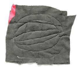 rag isolated on white background
